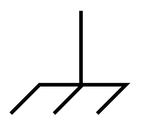 ladario dwg simbolo messa a terra massa elettronica