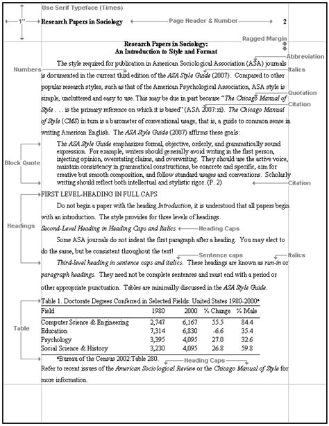 write  asa format style paper openstudy