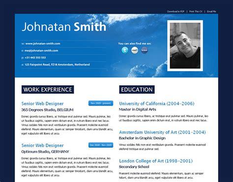 modern resume formats 2014 52 modern free premium cv resume templates