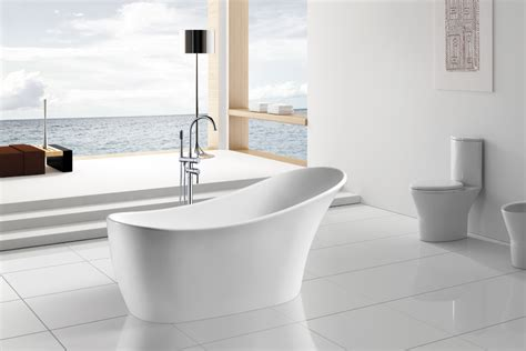 luxury freestanding bathtubs 63 quot modern bathroom white acrylic luxury bathtub w