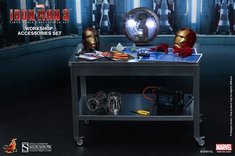 Toys 16 Iron 3 Workshop Accesories Set marvel iron workshop accessories collectible set by sideshow collectibles