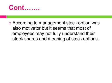 design option meaning definition of employee stock options