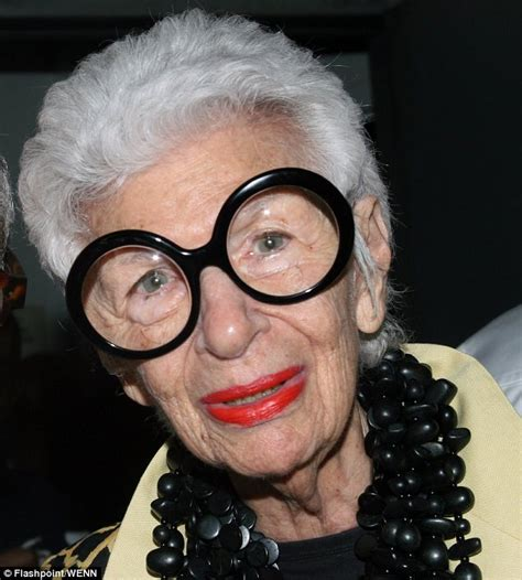 actor with thick rimmed glasses eyebobs iris apfel 90 year old style icon inspires