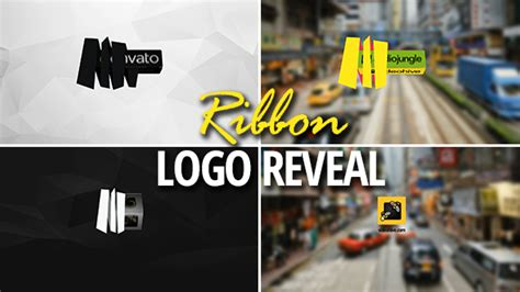 ribbon logo reveal 3d ribbon logo reveal after effects template videohive