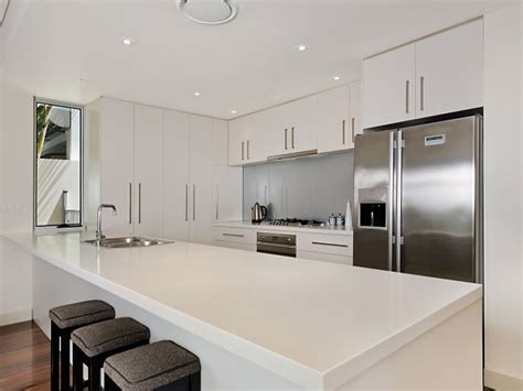 Modern Galley Kitchen Design | modern galley kitchen design using floorboards kitchen