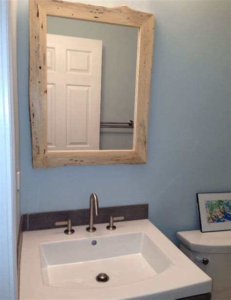 Custom Made Bathroom Mirrors Pin By Along The Ridge On Rustic Framed Mirrors Pinterest