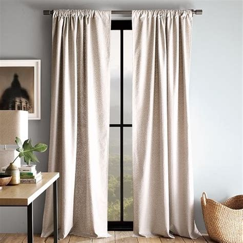 westelm curtains metallic curtains from west elm parsons project pinterest