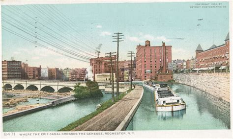 erie canal bicentennial milestones in the canal s history