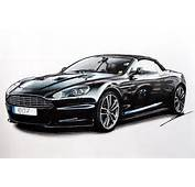Aston Martin DBS Volante Speed Drawing By Roman Miah  YouTube