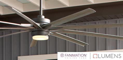 Large Residential Ceiling Fans by Lumens Guest Why Choose A Large Ceiling Fan Fanimation