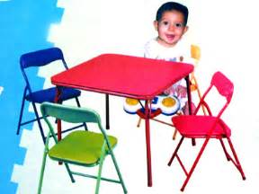 Toddler Folding Table And Chairs Folding Table And Colored Folding Chairs For Childrens And