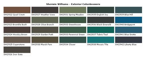 exterior paint swatches sherwood williams 2017 grasscloth wallpaper