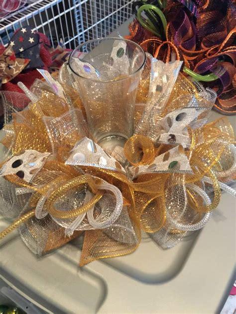 deco mesh centerpiece wreaths pinterest beautiful