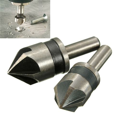 Counter Sink Drill Bits by 2pc 5 Flute Countersink Drill Bit Set 82 176 Counter Sink