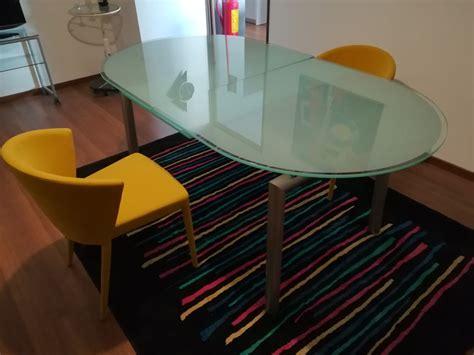 tavoli vetro prezzi tavolo allungabile in vetro temperato calligaris a prezzo