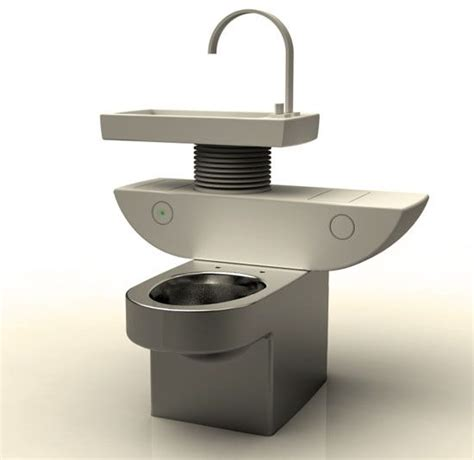 water sink combo smart toilet sink combo uses greywater to flush treehugger