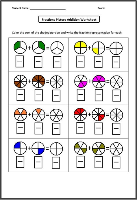 maths worksheets year 2 fractions year 2 math worksheets fraction learning printable