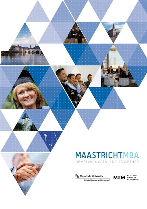 Maastricht School Of Management Mba by The Maastrichtmba