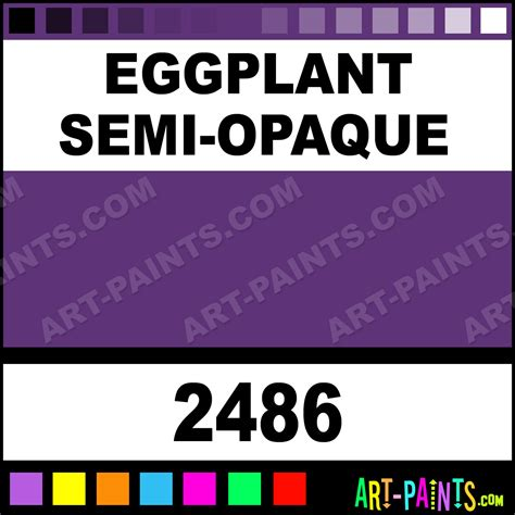 eggplant semi opaque delta acrylic paints 2486