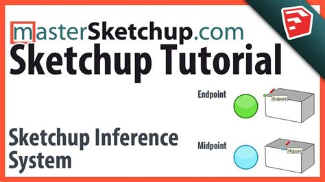 sketchup tutorial inference using the sketchup inference system youtube