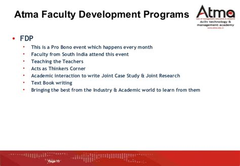 Atma Mba by Atma College Introduction For Placements V3 Mba 2014 16 Batch