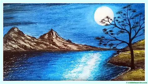 imagenes de paisajes en dibujo paisajes f 225 ciles de dibujar web del maestro