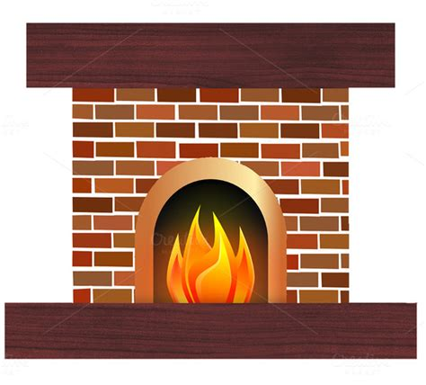Fireplace Clipart by Fireplace Clipart Free 187 Designtube Creative Design