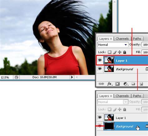 cara membuat foto dengan latar belakang hitam manipulasi foto cara membuat efek manusia api dengan