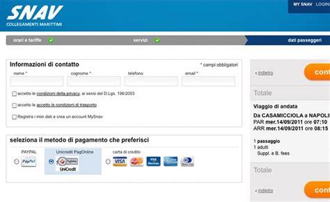 Unicredit Banca Multicanale Accesso Clienti by Snav Stipula Una Nuova Convenzione Con Unicredit Snav
