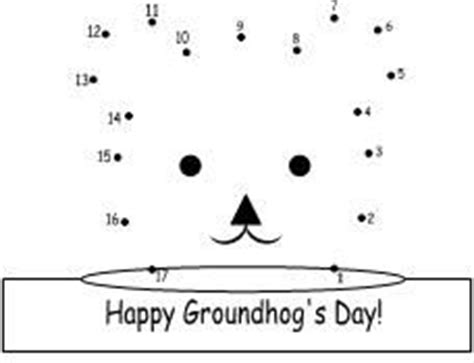 groundhog day number of days printable trace and color page for groundhog day from