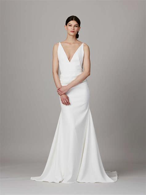 simple wedding dresses classic designer bridal gown