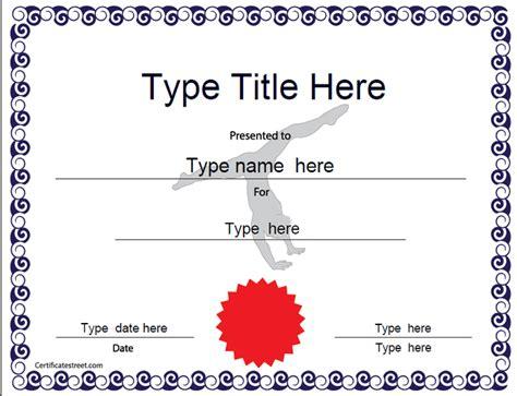 netball certificate template sports certificate gymnastic award certificatestreet