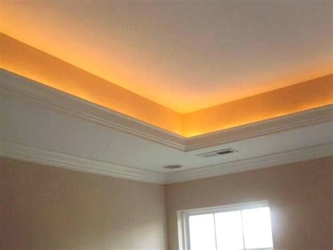 Tray Ceiling Lighting Rope Tray Ceiling Lighting Crown Molding Tray Ceiling Rope