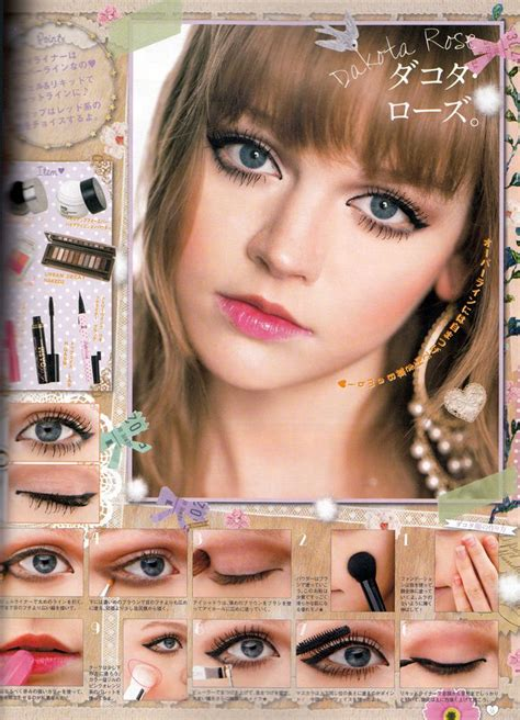 Mascara Harajuku how to do dakota s makeup i expression on that