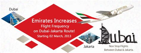 emirates indonesia customer service emirates increases flight frequency on dubai jakarta route