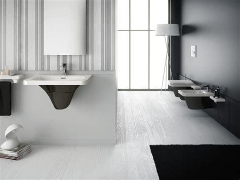 bagni bianchi e neri bagno nero e grigio per i sanitari spazio soluzioni