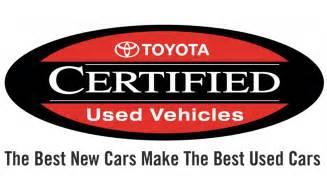 Toyota Certification Program Toyota Certified Used Program Benefits Overview 802 Toyota
