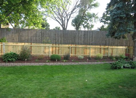 fence ideas for backyard backyard fence pictures get the ideas and build your own