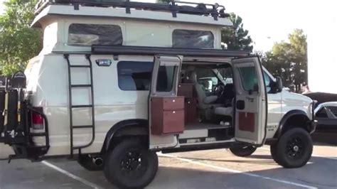 Handicapped House Plans sportsmobile 4x4 camper van sema show las vegas youtube