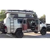 Sportsmobile 4x4 Camper Van SEMA Show Las Vegas  YouTube