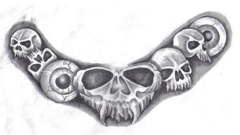 necklace tattoo designs skull necklace by hellcatmolly on deviantart