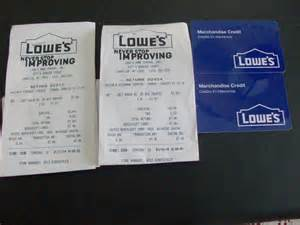 Pay Lowes Credit Card With Gift Cards - lowes gift merchandise card 94 92 store credit hardware free shipping ebay