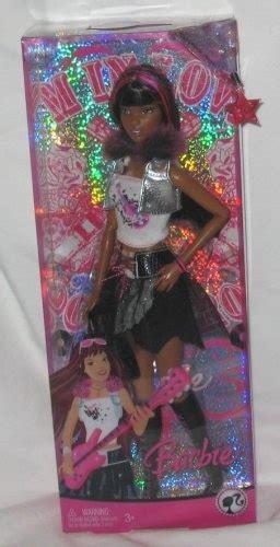 black doll 2008 fashion fever 2008 doll in rock 171