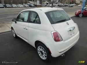 White Fiat 500 Pop Bianco White 2012 Fiat 500 Pop Exterior Photo 78330025