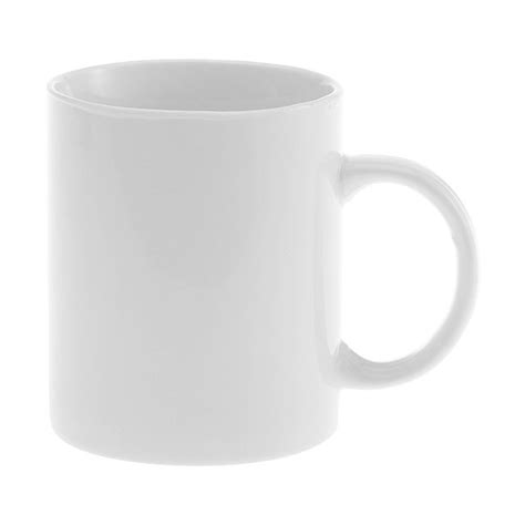 Plain Mug plain white coffee mug for hire from spaceworks