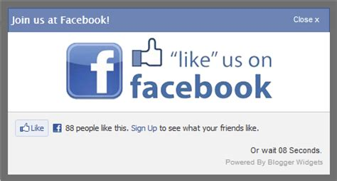 membuat widget facebook di website tutorial membuat widget like box fanspage melayang di blog