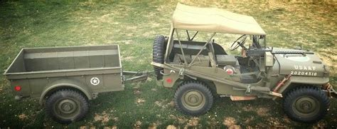 bantam jeep for sale 1943 ford gpw and 1942 bantam t3 trailer 1943 ford gpw