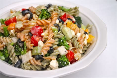 pasta salad recipes the best creamy italian pasta salad i heart recipes