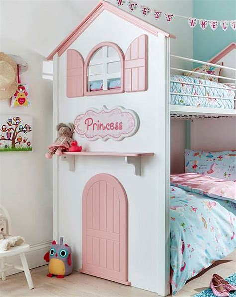 Princess Bunk Bed J D Williams Princess Bunk Bed