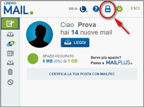 librero mail password specifica per app libero aiuto